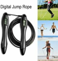 Adult Adjustable Skipping Rope Jump Rope With Digital Counter Calorie Counter UK