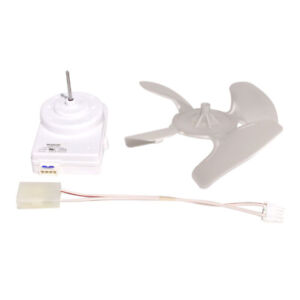 Whirlpool Part# W10124096 Condenser Fan Motor Assembly (OEM) FACTORY AUTHORIZED