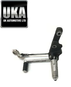 2016 TRIUMPH SPEED TRIPLE S 1050 GEAR SELECTOR PEDAL LEVER AND FOOT PEG