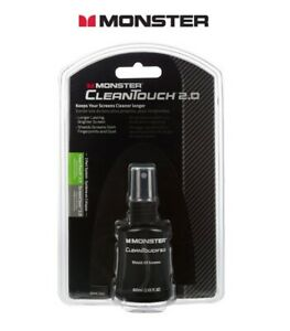 Monster CleanTouch Screen Kit (60ml Bottle + MicroFibre Cloth) for all Screens