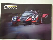 CARD EUROPEAN LE MANS SERIES SILVERSTONE 2018 : AT LIGIER NISSAN #9 - SIGNED