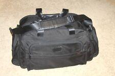 Tumi Alpha SPORT DUFFEL 22150 Travel Carry-On Gym Bag Black Ballistic Nylon