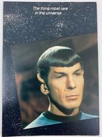 Star Trek TOS 1985 Greeting Card Spock 4 Vintage
