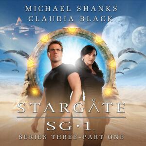 STARGATE SG:1 Big Finish Audio CD Series 3 - Set 1 (Shanks & Black)