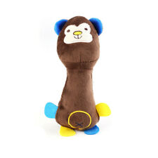 New listing Funny Fleece Chew Toy aggressive Dog Cat Teeth cleaning Squeeze Squeak Sound