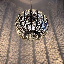 Orientalische Lampe Hängeleuchte Marokkanische Orient Hängelampe KKM0 D30cm