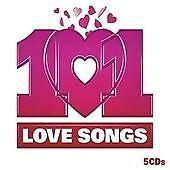 Various Artists : 101 Love Songs CD (2008)