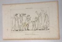 The Iilad Homer Odyssey Engraving John Flaxman 1805 Nesters Sacrifice Plate 6
