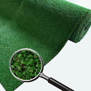 Jumbo Rasen 2,2 cm dickes Kunstgras, Kunstrasen grün Neu