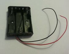 3 x AA Battery Box Holder Hobby Model Toy CABLE LENGTH 14cm UK SELLER  BC3