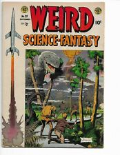 WEIRD SCIENCE FANTASY 25 - VG/F 5.0 - CLASSIC WILLIAMSON DINOSAUR COVER (1954)