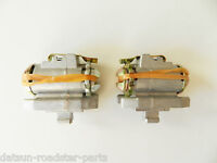 Datsun 320 520 521 620* 720* brake adjuster pair, LH, RH Japan NOS