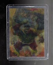 2016 Marvel Masterpieces Joe Jusko Lenticular  Mirage card AVENGERS 1 of 9