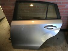 2012 Subaru Impreza HATCHBACK Silver Rear LEFT DRIVER Door Assembly Good Factory