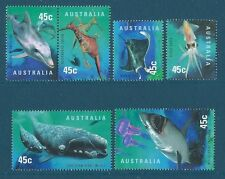 Australia 1998 Planet Ocean Set di 6 unmounted Nuovo di zecca, Gomma integra, non linguellato