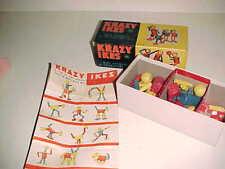 vintage  KRAZY IKES  Wooden Toys  -  Original Box
