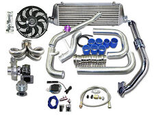 CXRacing Turbo Kit for 92-00 Honda Civic D15 D16 Engine Intercooler