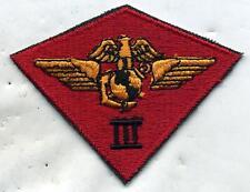 Vietnam Era USMC 3rd Marine Air Wing Patch Cut Edge