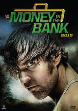 WWE: Money in the Bank (DVD, 2015) LIKE-NEW ROMAN REIGNS SHEAMUS KEVIN OWEN