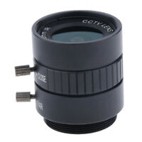 "1/2"" CS 6mm HD 3MP F1.3 Fixed Focus CS Mount Lens for CCTV Security Camera"