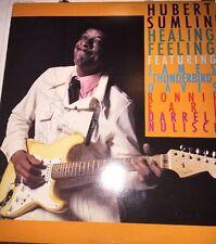 Signed! Hubert Sumlin, Healing Feeling 1990 LP W/flyer Nice!! BT-1053 Scarce!