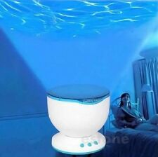 Ocean Sea Daren Waves LED Night Light Projector Romantic Relaxing Speaker Lamp