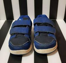 Adidas Infant Ortholite Blue & White Trainers size 4K Baby Shoes Toddler
