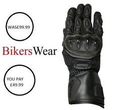Weise Vortex sports Motorcycle kangaroo leather glove Men's was £99.99 size XL