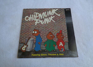 "The Chipmunks - Chipmunk Punk - Excelsior 12"" Vinyl LP - 1980 - NM-"