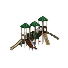 Natural Colored UPlay Today Rainbow Lake Commercial Playground Equipment Playset