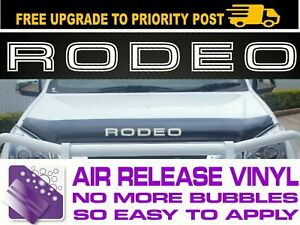 for Holden Rodeo RA TF BONNET PROTECTOR DECAL Sticker 400mm