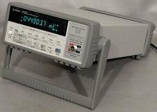 Hpagilentkeysight 34420a 75 Digit Nanovoltmicro Ohm Meter Nano Volt