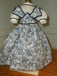 """14.5 - 15"""" Huret/French Fashion Doll  Huret style  Cotton Jumper and  Blouse."""