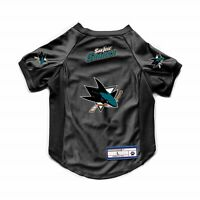 NEW SAN JOSE SHARKS DOG CAT DELUXE STRETCH JERSEY