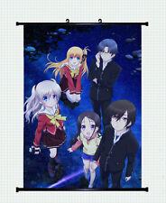 Charlotte anime Tomori Nao Home Decor Japan Anime Poster Wall Scroll 30x45cm