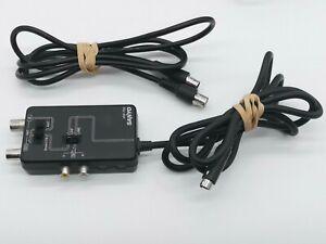 Genuine Original Sanyo VRF-700 RF Adaptor + Cable
