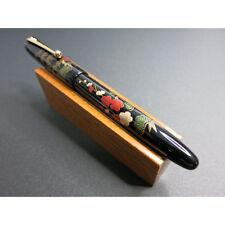 """Pilot NAMIKI """"Urushi"""" lacquer Maki-E Pine, bamboo, and plum""""松竹梅""""  #10 M nib 18K"""