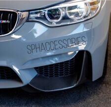 Separador De Parachoques Real Fibra De Carbono Para BMW M3/M4 F80 F82 F83 Moldura Frontal patrañas