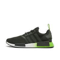 Men's adidas x Star Wars NMD Runner R1 Casual Shoes Yoda/Green/Yellow FW3935 301