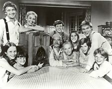 The Waltons Cast Black And White 8x10 Picture Celebrity Print