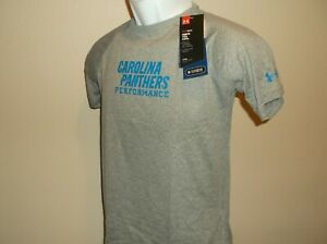 Carolina Panthers Under Armour Combine Shirt Youth Medium 10-12 nwt Free Ship