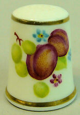 Royal Worcester Collectable Sewing Thimbles