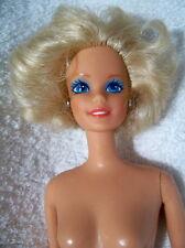 NUDE-Barbie-09693-Head Mold:Superstar-Body Type:Twist 'n Turn-Hair:Blonde