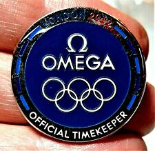 2012 OMEGA LONDON TOKYO 2020 JAPAN OLYMPIC GAMES COLLECTOR PIN