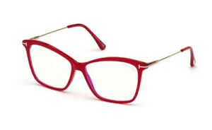 Tom Ford spectacle frame TF5687-B in col 075 shiny fuxia with case 56mm