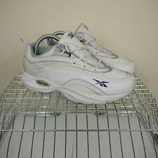 Reebok Walk DMX Vintage 90s Retro White Trainers Sneakers UK5 EU38