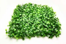New Artificial fake Plastic Green Grass Lawn sod meado Flower Plant Wedding A3