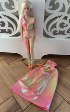 Jewel Girl Barbie 2000. Ever Flex Tummy Barbie + outfits. Disco princess Barbie