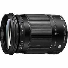 Sigma DC 18-300mm Nikon PLUS USB Dock and B+W lens