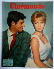 ►CINE MONDE 1320/1959-BELMONDO-CLARK GABLE-MAY BRITT-MARLENE DIETRICH-EDITH PIAF